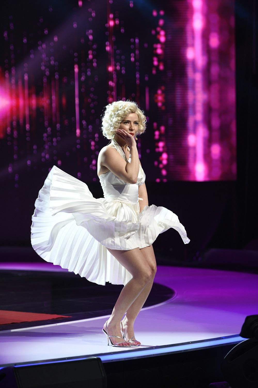 """Anca Dinicu și Marilyn Monroe îl """"fierb"""" pe Mihai Bendeac la iUmor, miercuri, de la 20.30, la Antena 1"""