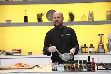 Chefi la cuțite, 9 martie 2021. Cosmin Seleși a făcut show în bucătărie! A pregătit o rețetă ce nu s-a mai făcut în emisiune