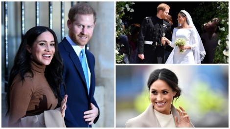 Meghan Markle și Prințul Harry în 3 ipostaz diferite