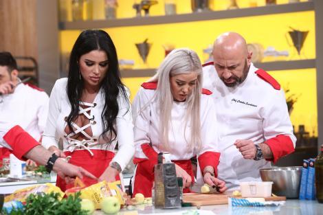 Daniela Crudu și Ana Crudu la chefi la cutite