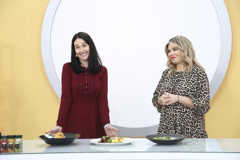Andreea Moldovan și Gina Pistol, la degustarea pentru amuleta 20
