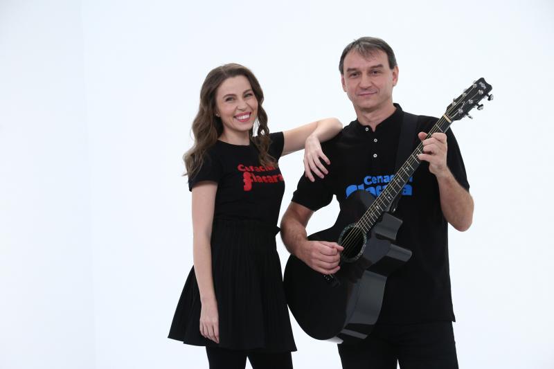 Andrei Păunescu și Maria Măgirescu in culisele chefi la cutite