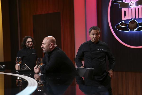 Sorin Bontea, Florin Dumitrescu și Cătălin Scărlătescu, in platoul chefi la cutite