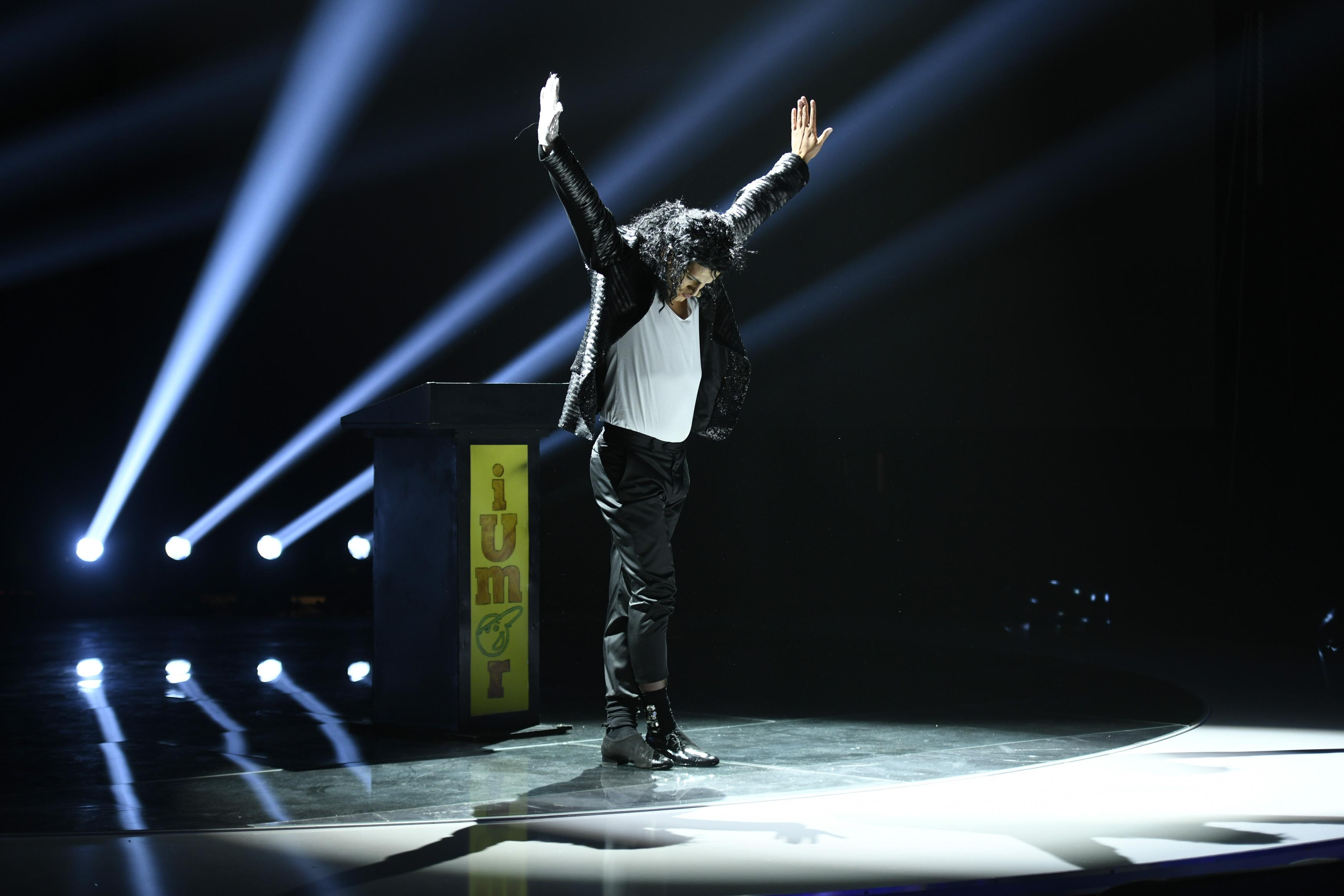 George Tănase intră în pielea lui Michael Jackson pentru un roast istoric la iUmor