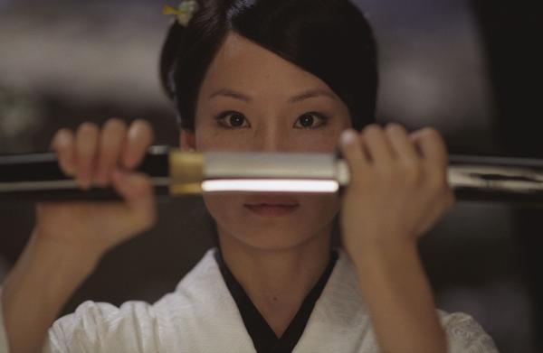 Lucy Liu, în filmul Kill Bill