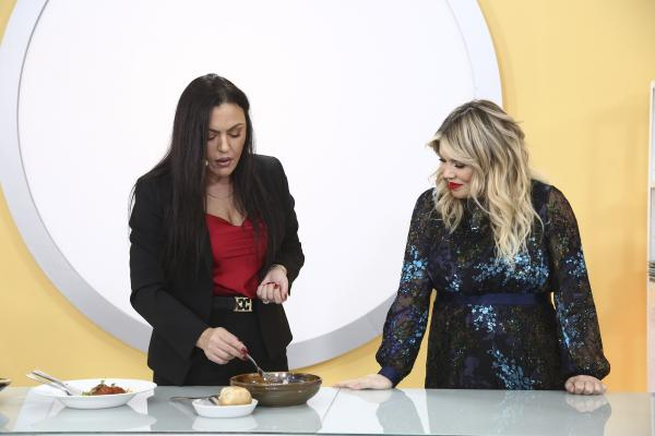 Gina Pistol și Amalia Stanciu la Chefi la cuțite