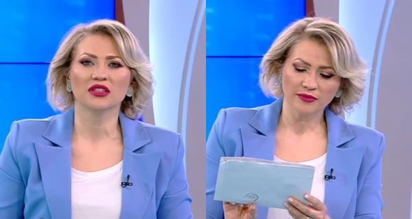 Mirela Vaida, prezentatoarea Acces Direct