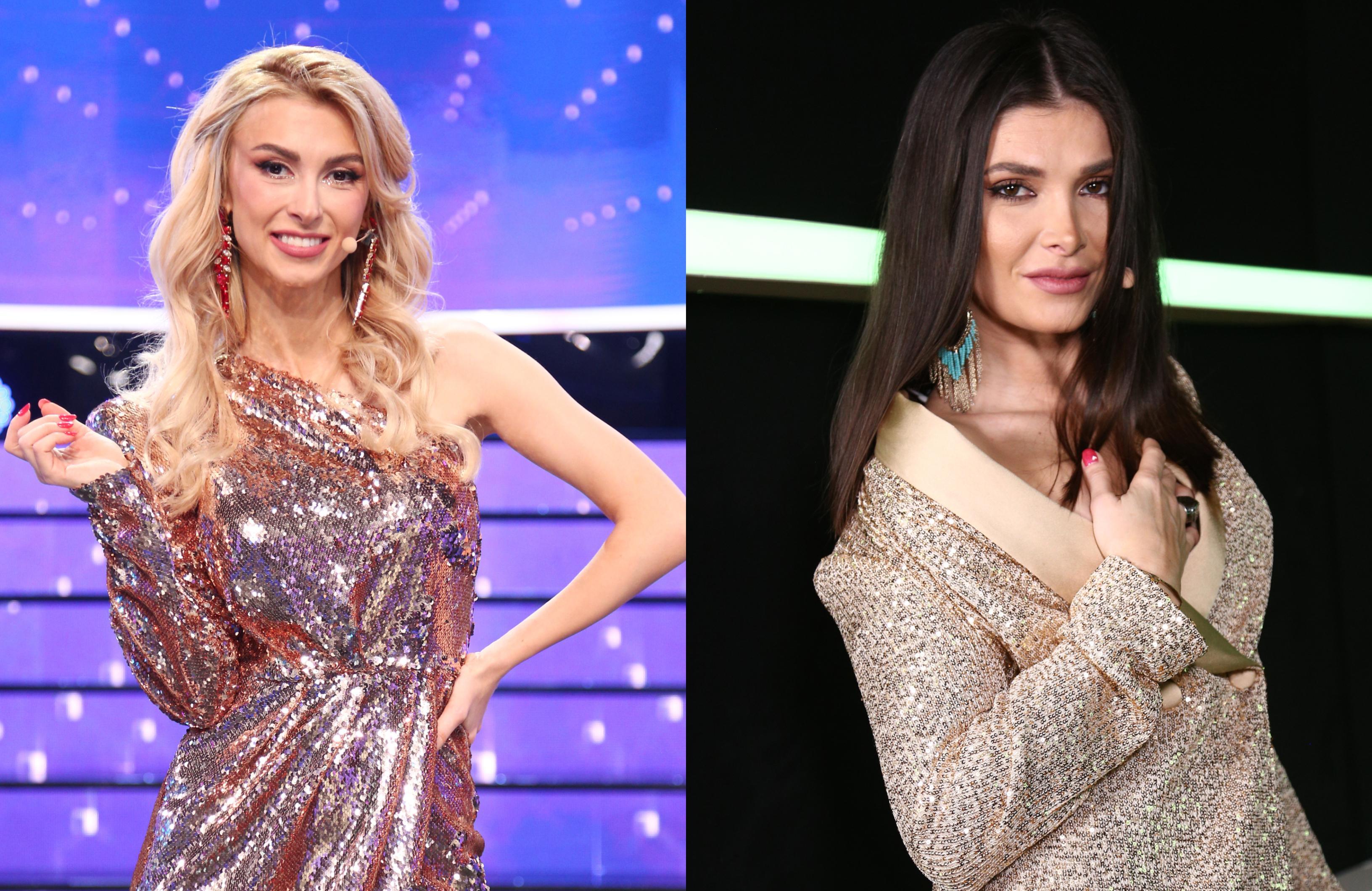 Te cunosc de undeva, 17 aprilie 2021. Alina Pușcaș și Andreea Bălan au purtat două ținute spectaculoase