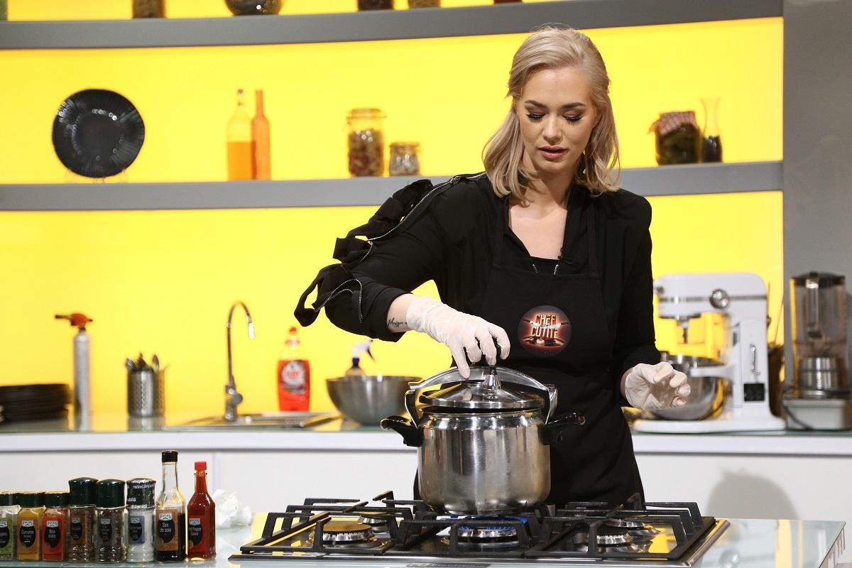 Lupta pentru amuletă incinge spiritele în bucătăria Chefi la cuțite Feli Donose, invitata specială a serii