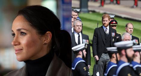 Meghan Markle i-a lăsat Prințului Philip o amintitre la mormânt.