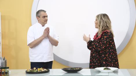 """Chefi la cuțite, 19 aprilie 2021. Radu Dragoș a decis câștigătorul amuletei """"pedeapsă"""" din proba 23! Ce chef a primit-o"""