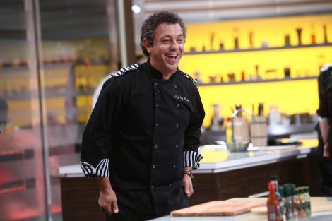 Sorin Bontea, în platoul Chefi la cuțite