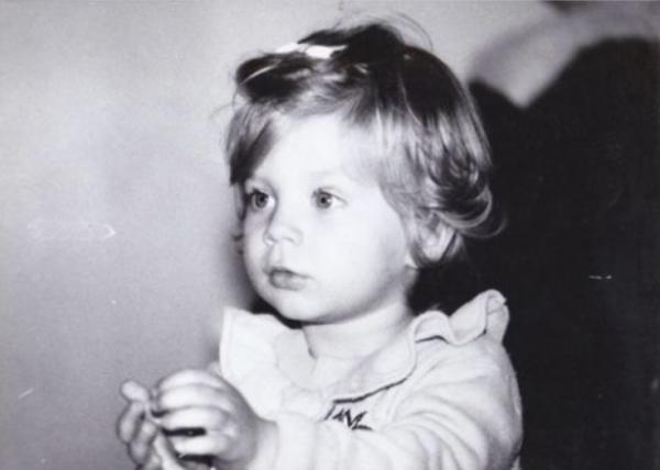 Ana Baniciu în copilărie