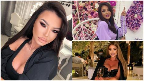 Ana Maria Mocanu in trei ipostaze diferite, în haine diferite