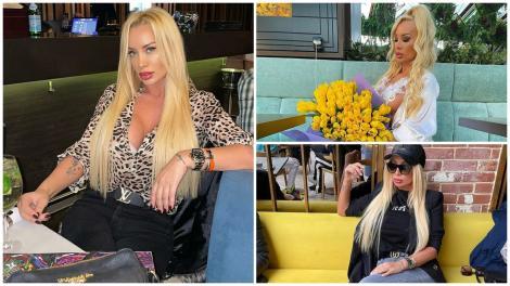 Simona Trașcă în tri ipostaze diferite