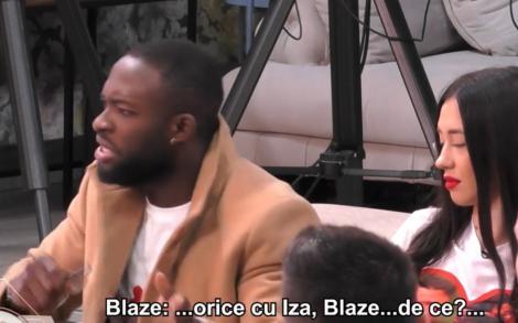 Liviu și Blaze au avut o discuție tensionată