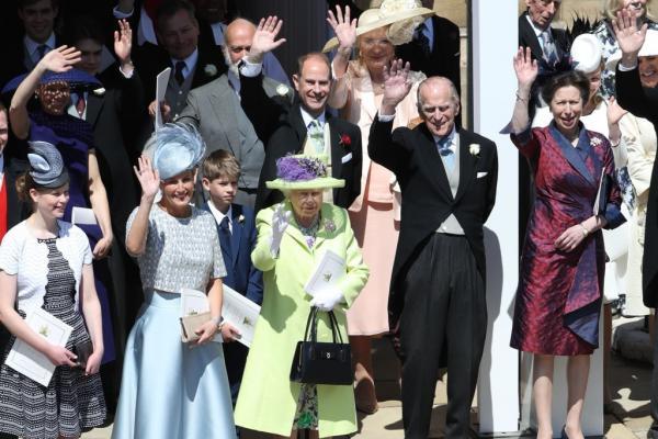 Lady Louise Windsor și toți membri familiei