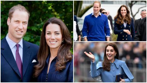 Kate Middleton și Prințul William în ipostaze diferite