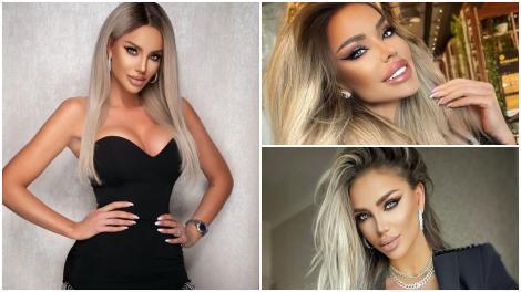Bianca Drăgușanu în trei ipostaze diferite