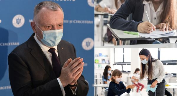 Ministrul Educaţiei, Sorin Cîmpeanu, scoala
