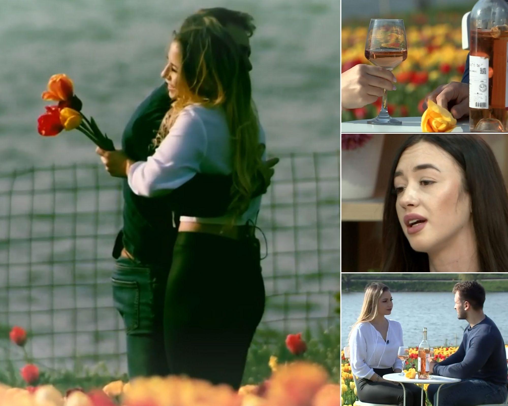 Mireasa 2021, sezon 3. Alina și Alin au fost la date. Cum a reacționat Adelina după ce a văzut imaginile