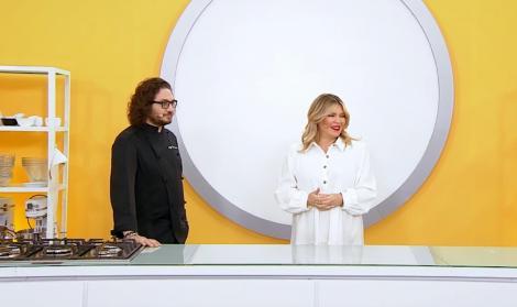 Florin Dumitrescu și Gina Pistol in bucataria Chefi la cuțite, sezonul 9
