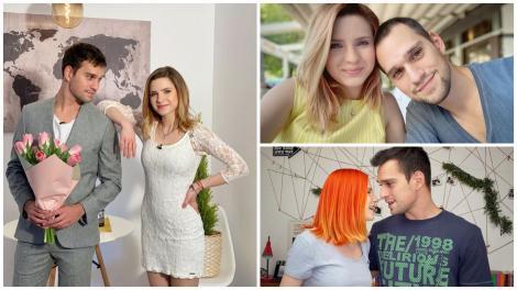 Cristina Ciobănașu și Vlad Gherman în trei ipostaze diferite