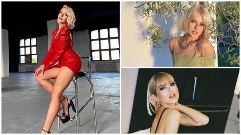 Lidia Buble în trei ipostaze diferite