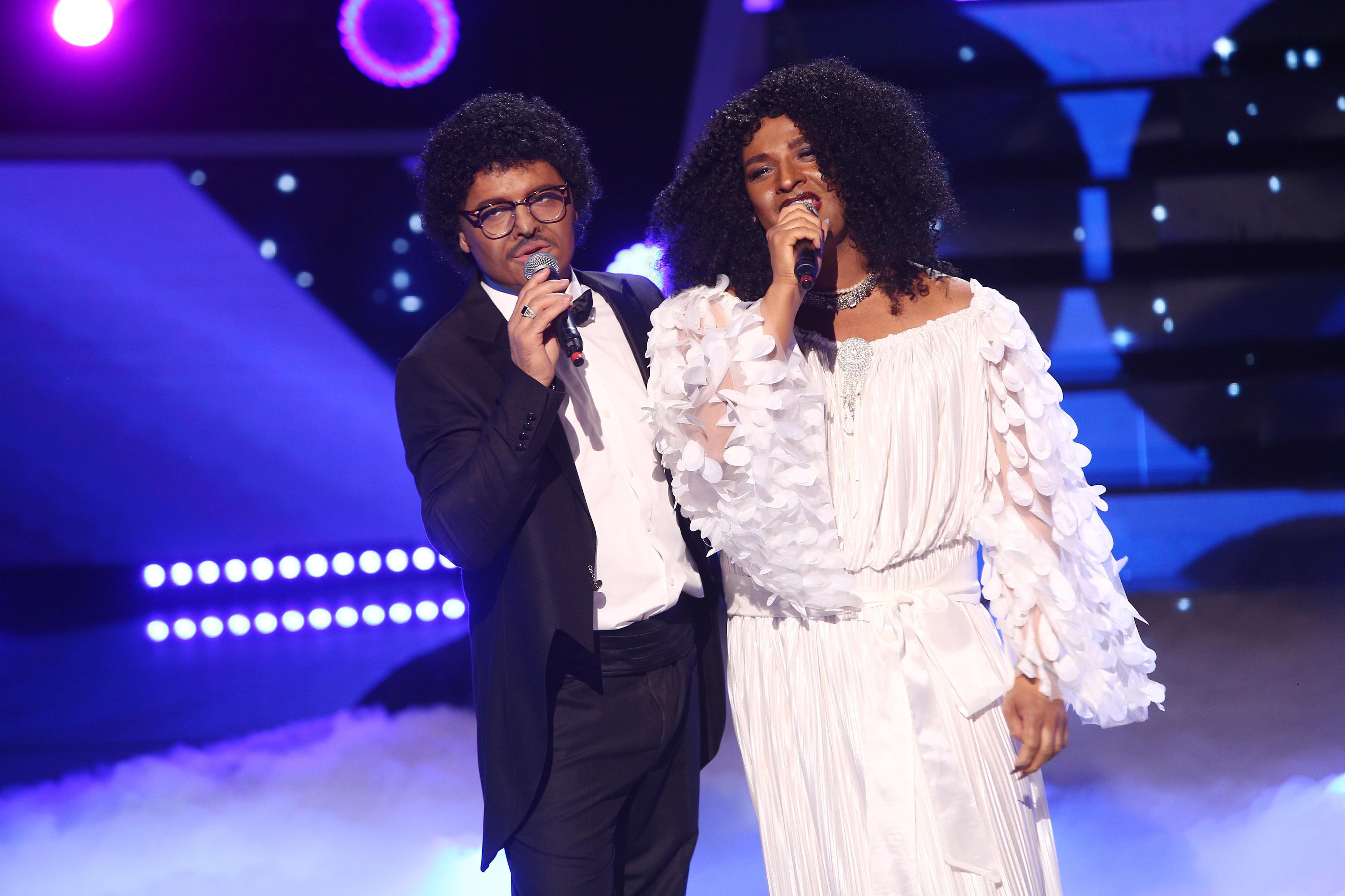 Te cunosc de undeva, 3 aprilie 2021. Liviu și Andrei, învăluiți în romantism, se transformă în Lionel Richie și Diana Ross