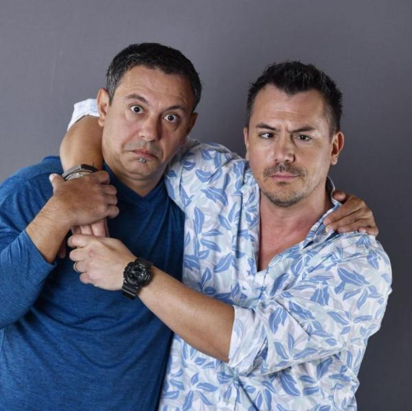Sorin Bontea și Răzvan Fodor sunt îmbrățișați