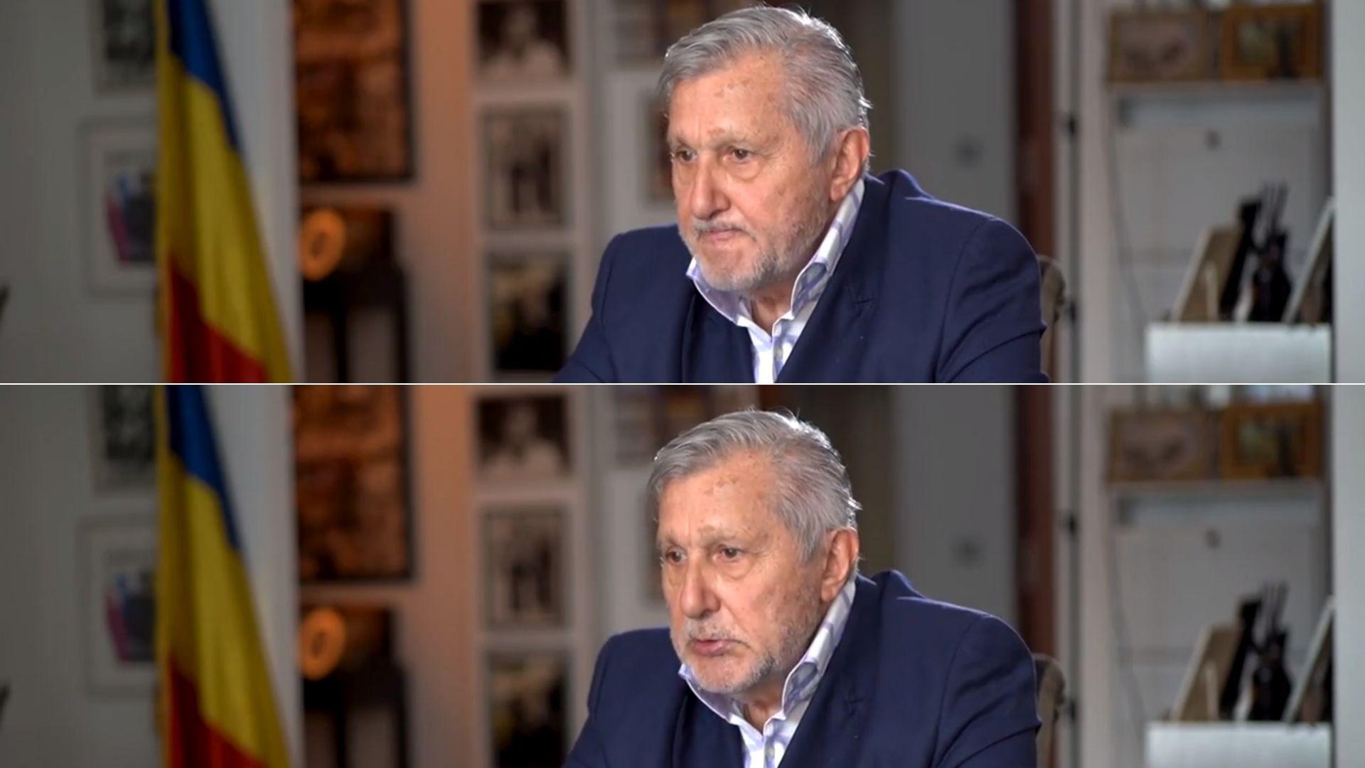 """Ilie Năstase, cu ochii în lacrimi! Sportivul, la un pas să plângă în timpul unui interviu: """"Vrem să ne cerem iertare"""""""