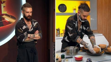 george petcu gătește pe blatul de la chefi la cutite sezonul 9