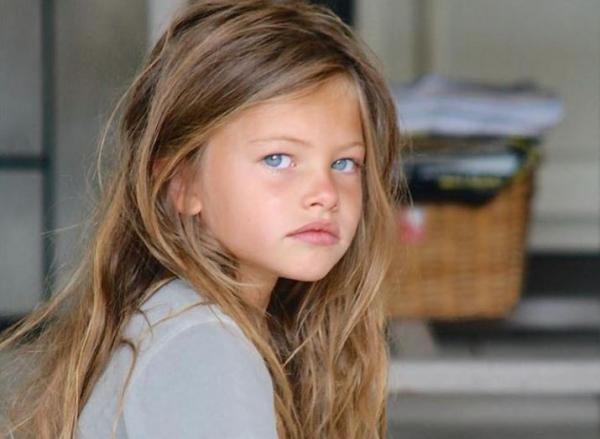 Thylane Blondeau copil