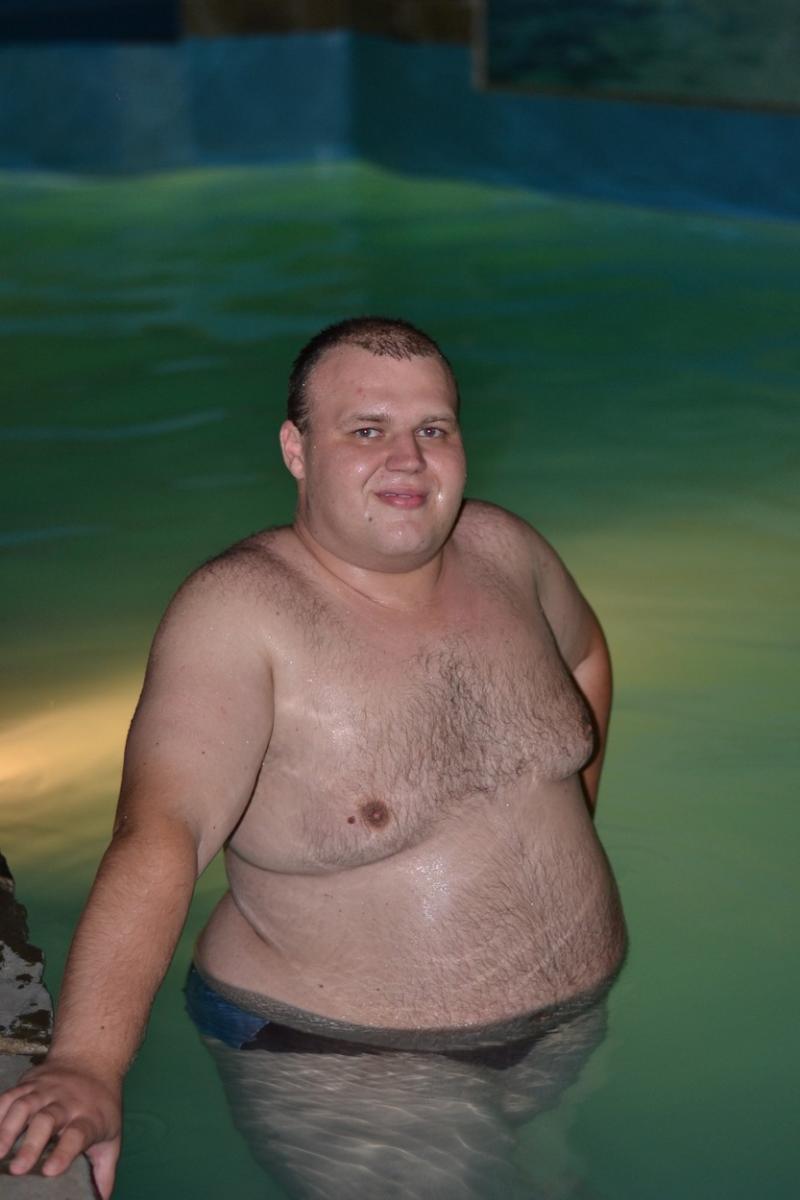 Denis Shevchenko, poză în piscină