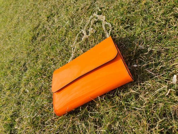 geanta portocalie