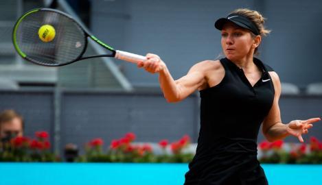Simona Halep, turneu Madrid