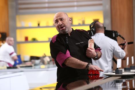 """Cătălin Scărlătescu în bucătăria emisiunii """"Chefi la cuțite"""", sezonul 9"""