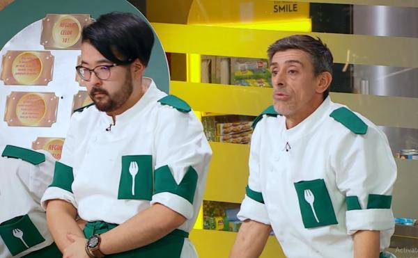 Rikito Watanabe și Francisco Garcia in bucataria chefi la cutite, sezonul 9