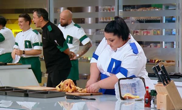 gabriela porumbel in bucatarie, in sezonul 9 Chefi la cuțite