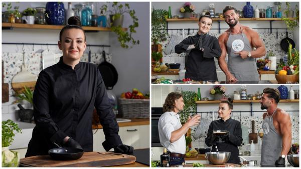 Roxana Blenche și Dorian Popa în 2 ipostaze diferite