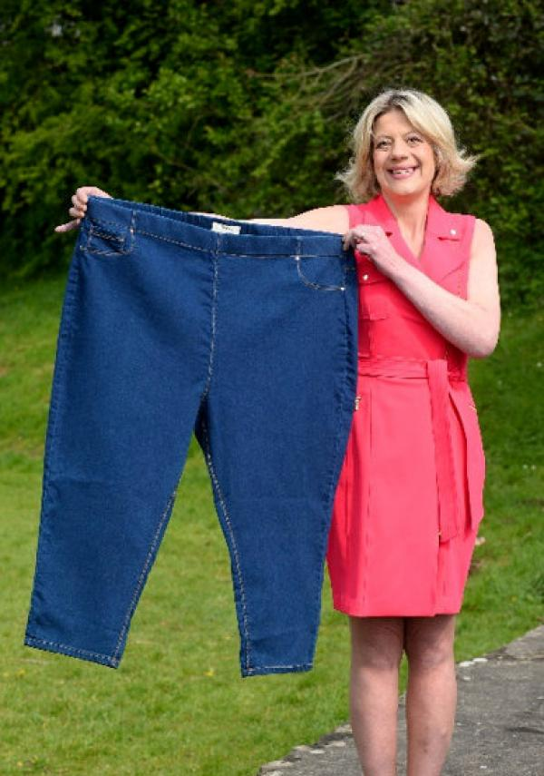 Karina Dunford, după ce a slabit 114 kilograme