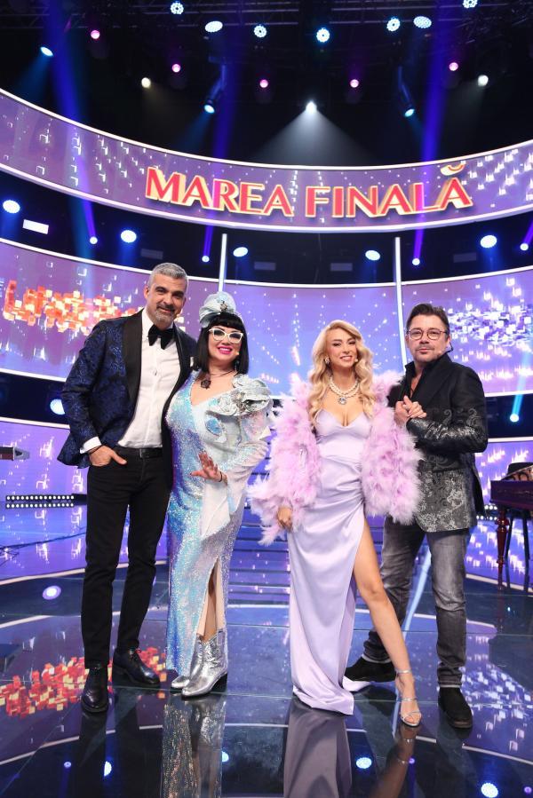 Aurelian Temișan, Ozana barabancea, Andreea Bălan și Cristi Iacob, în Finala Te cunosc de undeva 2021