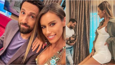 Dani Oțil și Gabriela Prisăcariu s-au căsătorit. Imagini de la fericitul eveniment