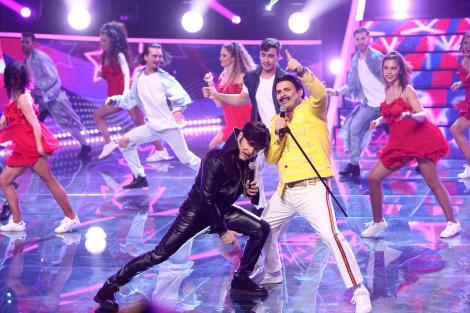 Te cunosc de undeva!, 15 mai 2021. Liviu Vârciu și Andrei Ștefănescu, fenomenali, transformați în Elvis Presley și Freddie Mercury