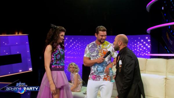 Dorian Popa, alături de Alina Pușcaș și Cosmin Seleși