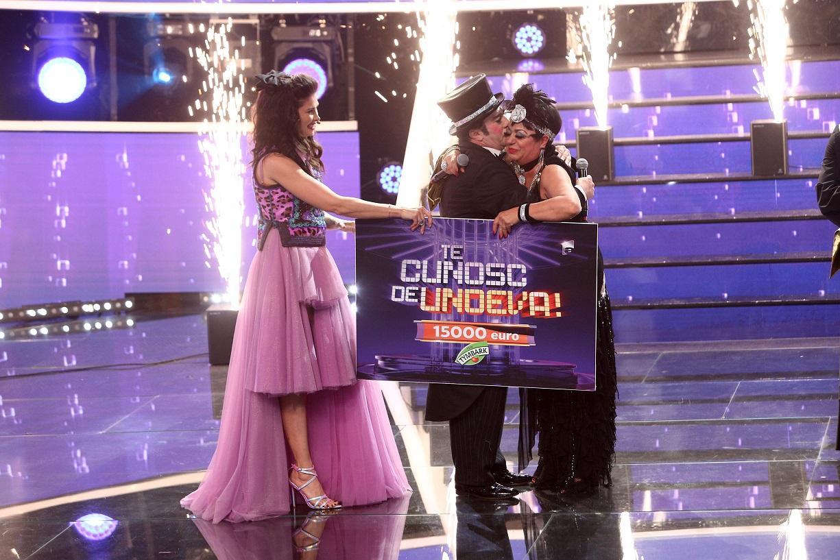 Adriana Trandafir şi Romică Țociu au câștigat cel de-al 16-lea sezon Te cunosc de undeva! Finala, lider de audienţă
