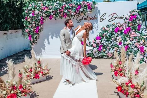 Gabriela Prisăcariu și Dani Oțil s-au căsătorit