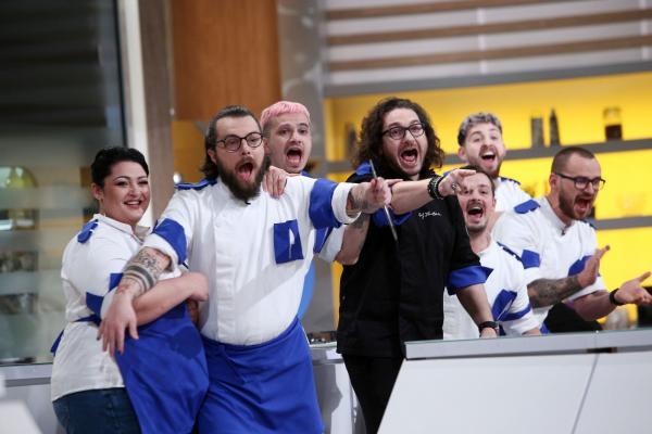 Florin Dumitrescu și echipa lui albastră