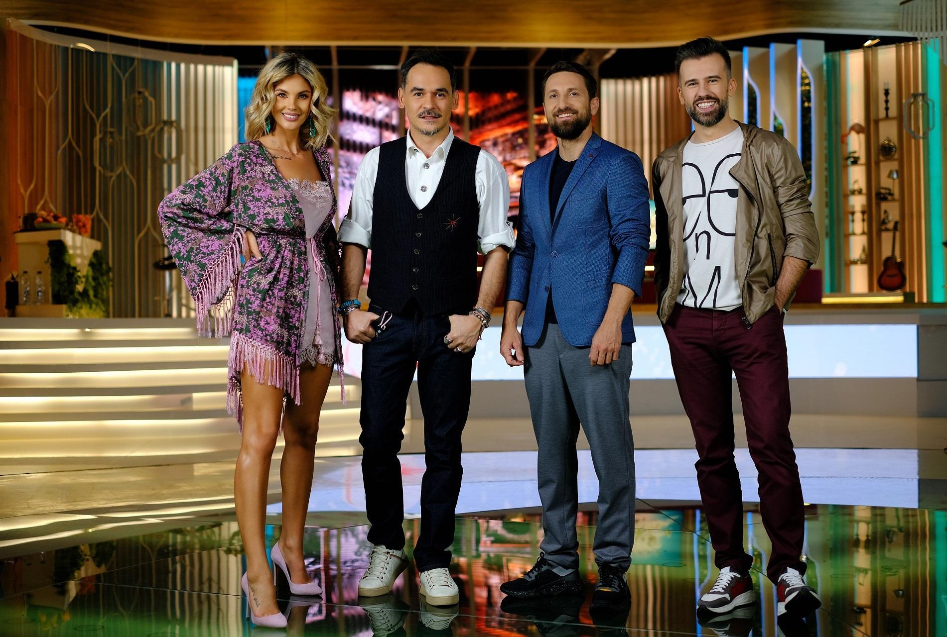 Ediţia în premieră Super Neatza cu Răzvan şi Dani, transmisă live dintr-un showroom de mobilă, lider de audienţă