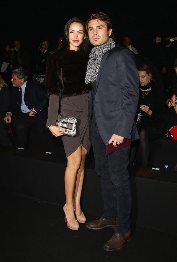 Adrian Mutu, alături de Consuelo Matos Gómez, când erau căsătoriți